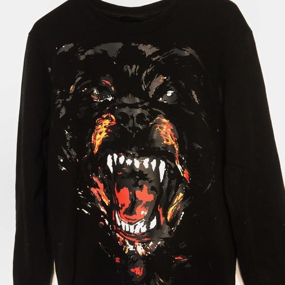 Givenchy Rottweiler 2011 Sweatshirt Sz M